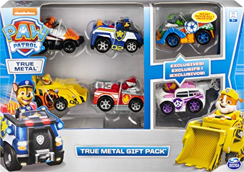 PAW PATROL Set Regalo | Patrulla Canina | True Metal 1:55 |