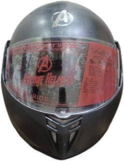 Ascone Robot Flip Up Helmet (Black)