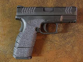 Sand Paper Pistol Grips Peel and Stick Grip Enhancements for The Springfield Armory XDM Compact .45 ACP