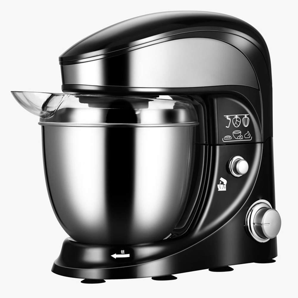 Adesign Alimentos Batidora de pie 500W del Mezclador eléctrico de la Pasta de Blender 4L Mezclador de Cocina con Bowl, Gancho for Masa, batidor, batidor: Amazon.es