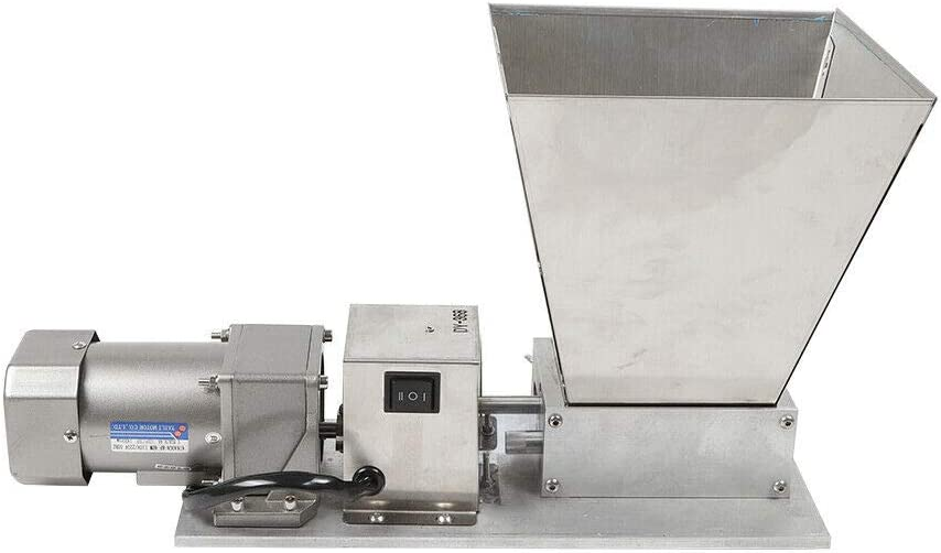 Electric Seattle Mall Malt trust Crusher 5kg Capacity 2 S Rollers Hopper Stainless