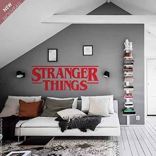 Adhesivo de pared con logo de Stranger Things, diseño de Stranger Things