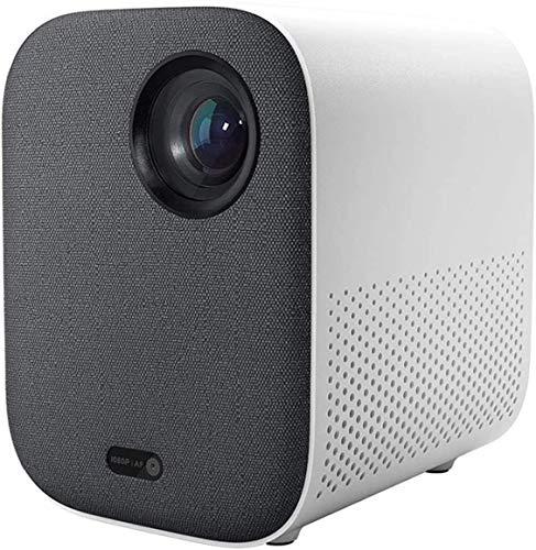 TIANYOU Proyector Mini Proyector Dlp Portátil 1920 * 1080 Soporte 4K Video Wifi Led Beamer Tv Full Hd para el Cine en Casa para el Entretenimiento en el Hogar Resolución HD/Blanco