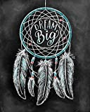 Palodio 5D Diamond Painting Kits Dream Catcher, Paint with Diamonds Art Feather Paint by Numbers Full Round Drill Cross Stitch Crystal Rhinestone Home Wall Decoration 12x16 inch