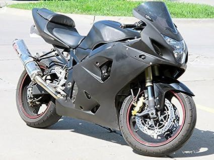 Matte Black Injection Left Side Fairing Fit for Suzuki GSXR 600 750 2004-2005 K4