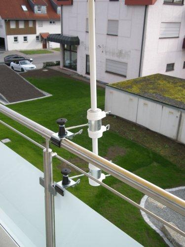 Parapluie de bâtons à 25,5 ø 47 mm-lot de 1–support jusqu'à 40 mm acier inoxydable de lARGE-distance support de parasol pour balcon ou pour l'extérieur à l'intérieur 11 cm hauteur de fixation de parapluie holly-produit breveté pour fixation rond ou éléments de carré 2 à 40 mm avec 3 prises au rayon inox-support réglable pivotant à 360° avec fixation kratzfreien gUMMISCHUTZKAPPEN à 360°-support orientable pour parapluie avec espacement plots-bâtons de 25,5 à 13 mm ø 45 cm avec enregistrement douille profonde 11 cm-distance long bec pivotant filetage-axe-innovation fabriqué en allemagne-holly ® produits sTABIELO-holly-sunshade ® sCHIRMEN à sur - 2,5 cm de diamètre 2 supports de fixation ou 2–te utiliser pour des raisons de sécurité (kabelbinder)