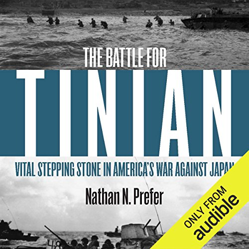 Battle for Tinian audiobook cover art