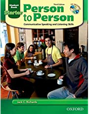 Person to Person: Communicative Speaking and Listening Skills: Student Book, Starter Level