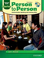 Person To Person: Coummunicative Speaking And Listening Skills: Starter Student Book