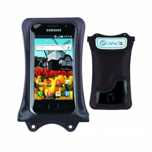 DiCAPac WP-C1 debajo del agua carcasa impermeable para Apple Iphone 6, Samsung Galaxy S4 S3, Google Nexus 4, HTC One, HTC Droid DNA, HTC 8 X, Sony Xperia Z, Xperia TL, MOTOROLA DROID RAZR MAXX, LG Optimus G, Blackberry Z10,...