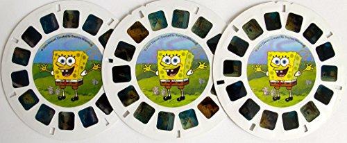 COMPLETE Set of 3 SPONGEBOB SQUAREPANTS View Master DISCS w/ Bubblestand, Gary Takes a Bath, & Frankendoodle (2003 Fisher Price) by SpongeBob SquarePants