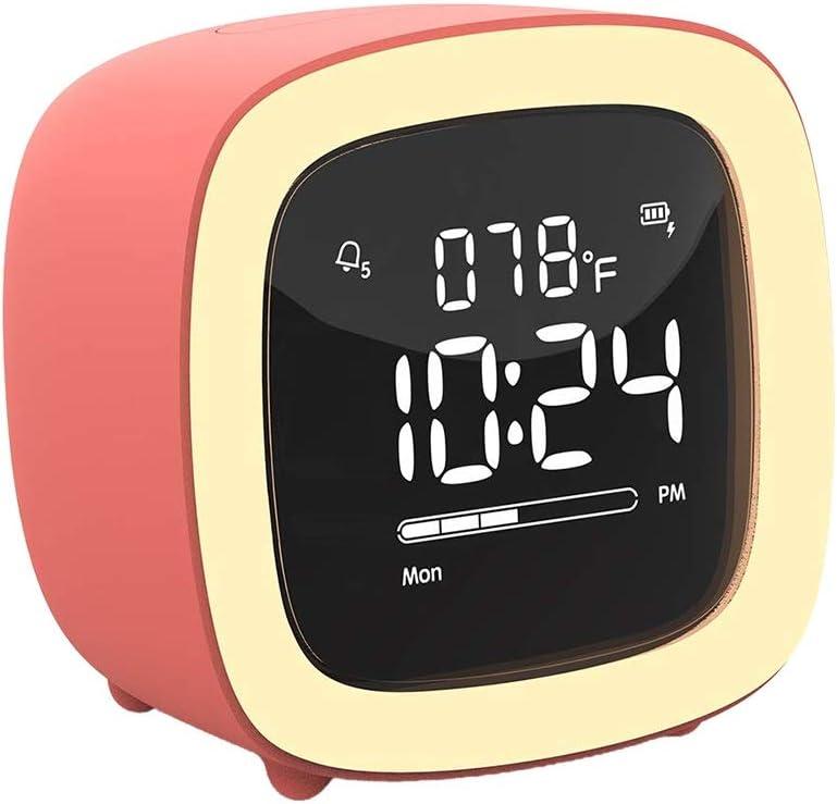 ZLBYB Cute TV Night Super Special SALE held Light Alarm Be Girls for Clock Kids Teens New item