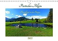 Poetisches Allgaeu (Wandkalender 2022 DIN A4 quer): Erleben Sie ein ganzes Jahr die Allgaeuer Bergwelt! (Monatskalender, 14 Seiten )