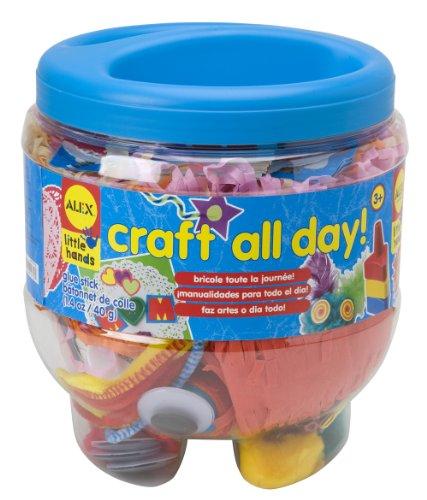 ALEX Toys Little Hands Craft All Day Preschool Craft Supply Jar