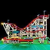 TETAKE LED Beleuchtungsset Licht-Set Beleuchtung Light Kit für Lego Creator Expert Achterbahn 10261 (Nicht Enthalten Lego Modell)