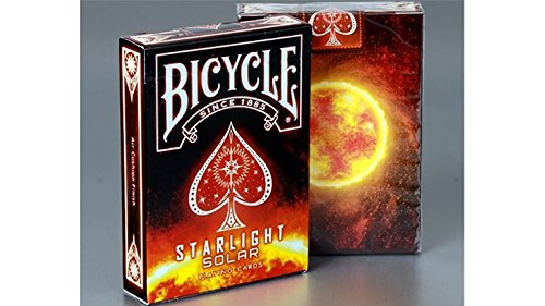SOLOMAGIA Bicycle Starlight Solar Playing Cards by Collectable Playing Cards - Kartenspiel - Zaubertricks und Props