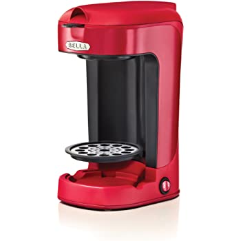 Bella BLA13711 One Scoop One Cup Coffee Maker, Red