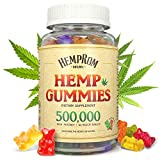 Hemp Gummies for Pain and Anxiety 500000 Natural Organic Hemp Oil Infused Gummy Bear- Inflammation Relief -Promotes Sleep & Calm Mood