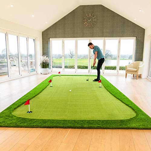 FORB Professional Putting Mats | Golf Accessories | Putting Practice Golf Mat | Indoor Putting Green...