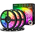 Olafus 50-Foot Smart RGB LED Strip Lights Kit