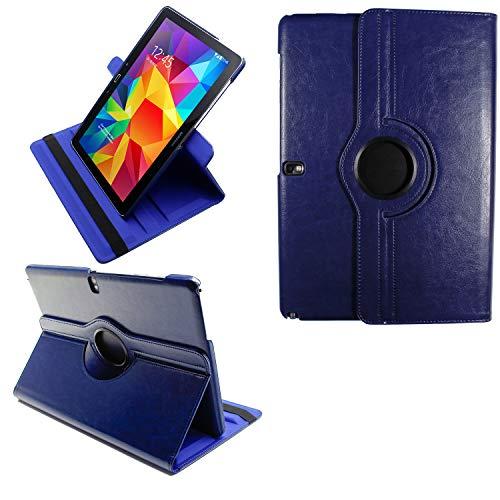 COOVY® 2.0 Cover für Samsung Galaxy Note PRO 12.2 SM-P900 SM-P901 SM-P905 Rotation 360° Smart Hülle Tasche Etui Hülle Schutz Ständer | dunkelblau