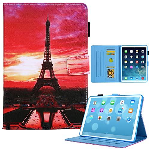 Funda Kom-Fit nuevo iPad Mini 6 2021 (8.3 pulgadas), suave TPU interior pintado de cuero cubierta delgada elegante soporte folio caso para iPad Mini 6, auto Wake/Sleep, modelo 15