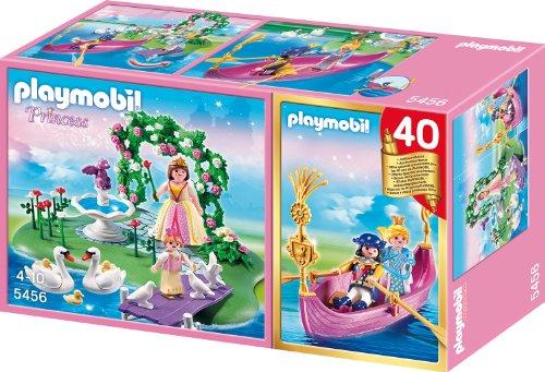 Playmobil 5456 - Jubiläums-Kompakt Set Prinzessinneninsel mit romantische Gondel