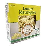 Krunchy Melts - Original Lemon Meringue Cookies - 90 Calories Per Serving - Fat Free - Gluten Free - Nut Free - Kosher Pareve - Low Calorie Snack - Keto Friendly - Box Of 4 Oz