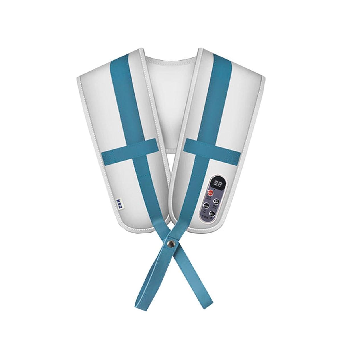 ミルク意気消沈した反応する首と肩のマッサージショール頸部マッサージャーのウエストショルダーバックデバイス