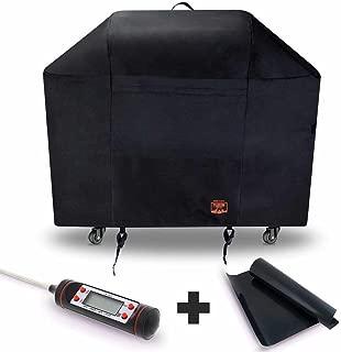 Yukon Glory 7107 Grill Cover for Weber Genesis Series - Waterproof & Weatherproof Vinyl Gas BBQ Winter Protector