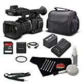 Panasonic HC-X1000 4K Camcorder with High-Powered 20x Optical Zoom and Professional Functions (Black) Bundle with Carrying Case + UV Filter + More