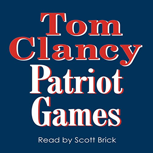 Patriot Games audiobook cover art