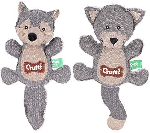 Crufts Hundespielzeug, Quietschelement