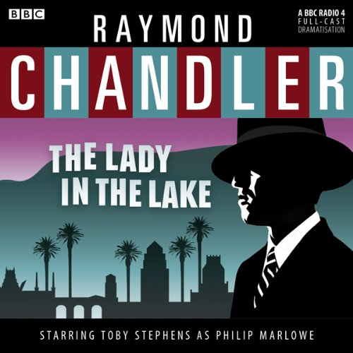 Raymond Chandler: The Lady in the Lake (Dramatised)                   By:                                                                                                                                 Raymond Chandler                               Narrated by:                                                                                                                                 Toby Stephens,                                                                                        Sam Dale,                                                                                        Barbara Barnes,                   and others                 Length: 1 hr and 26 mins     31 ratings     Overall 4.5