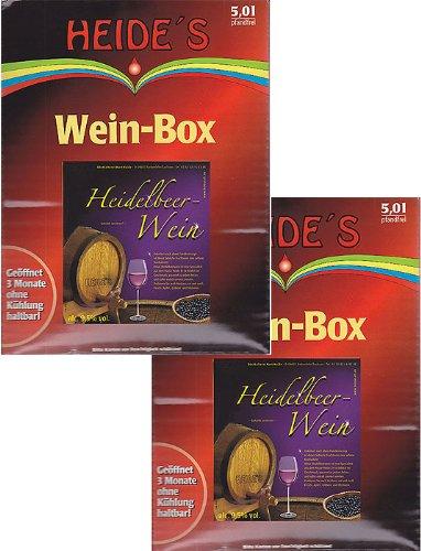 Heidelbeerwein 9,5% Alc, 2 x 5 Liter