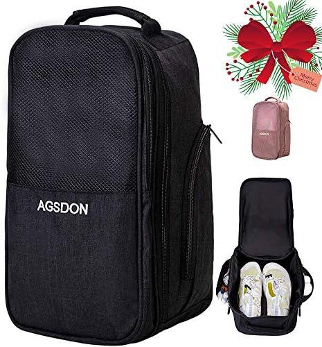 Golf Shoe Bag Men Shoe Travel Bag Zippered Sport Shoe Bag product image