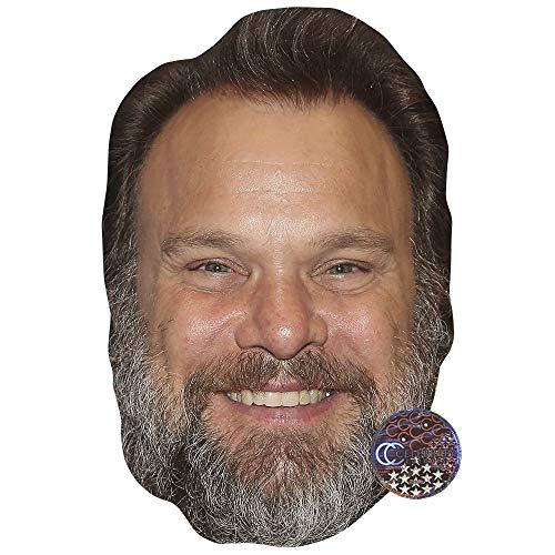Celebrity Cutouts Norbert Leo Butz Maske aus Karton