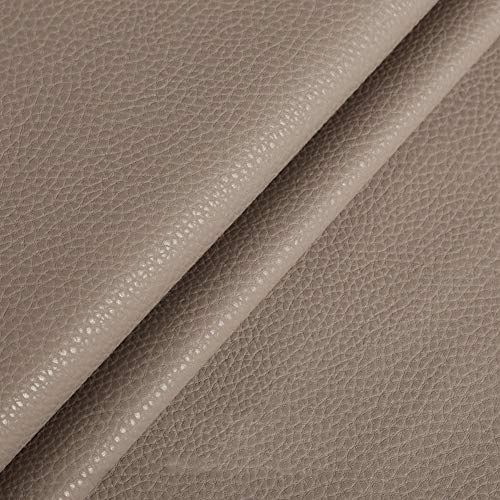 GAOCHAO YAN- Tela De Polipiel para Tapizar Tela De Imitación De Cuero Parche Cuero para Sofá Asiento De Coche Muebles Chaquetas Bolso Vendido por Metro Ancho Sin Cambios:1.4m