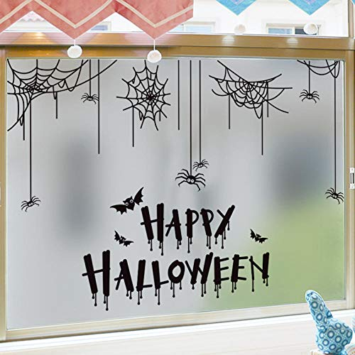 Wandtattoos & Wandbilder Halloween Aufkleber Glastür Und Fensterdekoration Wandaufkleber Thriller Party Poster Fenstergestaltung Aufkleber Selbstklebend