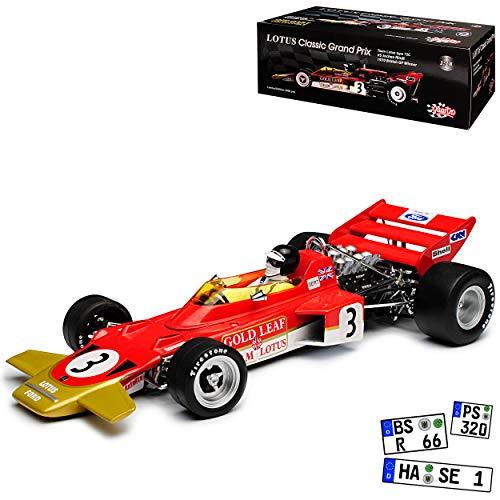 Unbekannt Lotus 72 Jochen Rindt 1970 Spanien GP Formel 1 1/18 Quartzo Sun Star Modell Auto