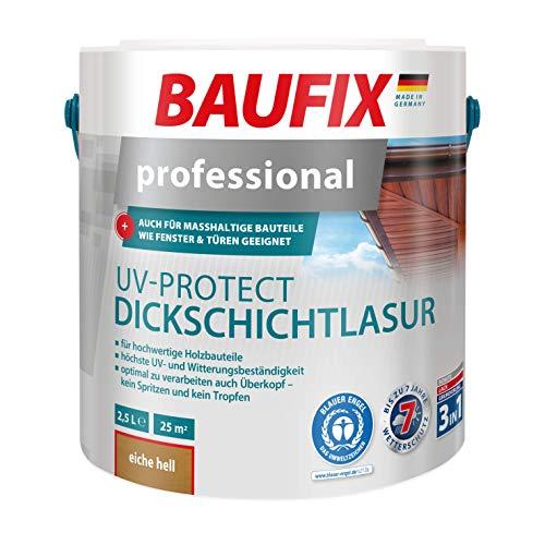 BAUFIX Professional UV-Protect Dickschichtlasur Eiche Hell
