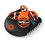 EACHINE E016F Boot Drohne Ferngesteuertes Boot Racing Hovercraft Abnehmbar Amphibious Vehicle Spielzeug Mini Drohne fr Kinder RC Multifunktional Boot Geschenk