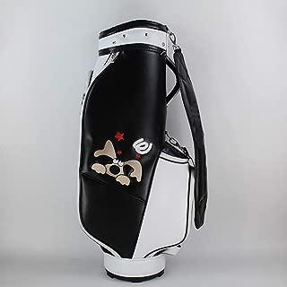 Golf Club Bag, Waterproof Material, Multi-Color Optional, 86×40×22cm happyL (Color : Black)