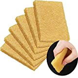 6 Pieces Glue Residue Eraser Rubber Cement Eraser 50 x 35 x 5 mm Skateboard Cleaner Sanding Discs Scooter Eraser Remove Eraser Cleaning Tool for Removing Adhesive Residues from Paper Plastic and More