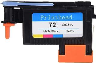 VIFER Testina di Stampa Stampa Uniforme Nessuna Inceppamento Della Carta Stampante Testine di Stampa Compatibili con HP72 T1100 T1200 T610 T790 Serie 1PC Testina di Stampa Magenta//Ciano