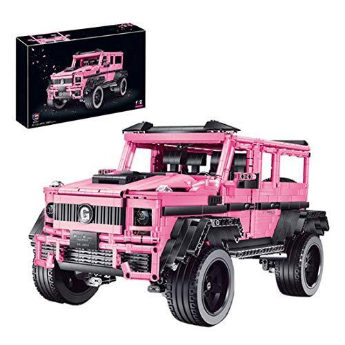 SUNI Bloques de construcción para vehículos todoterreno para King Kong Barbie 2687, bloques de construcción para coches de carreras, compatible con la técnica Lego.
