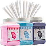 Best Cotton Candy Sugars - The Candery Cotton Candy Floss Sugar (3-Pack) Includes Review