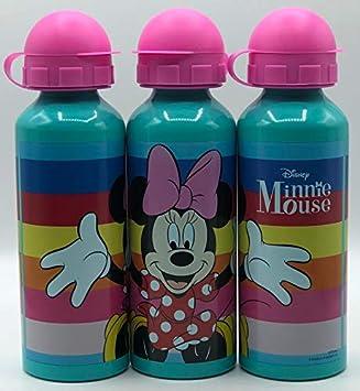 GIM Una Botella de Agua de Aluminio, cantimplora térmica a Prueba de Fugas sin BPA para Levar a la Escuela y Deportes el Termo 520ml- para niños y niñas (Verde)