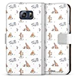 DeinDesign Étui Compatible avec Samsung Galaxy S6 Edge Plus Étui Folio Étui magnétique Winnie...