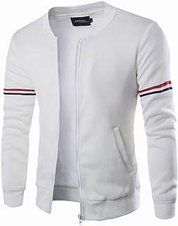 Uomo Ner'S Autunno Cotone Outwear Decorativo Autunno Inverno Stile Semplice Banda Tempo Libero Manica Lunga Giacca Uomo Uo...